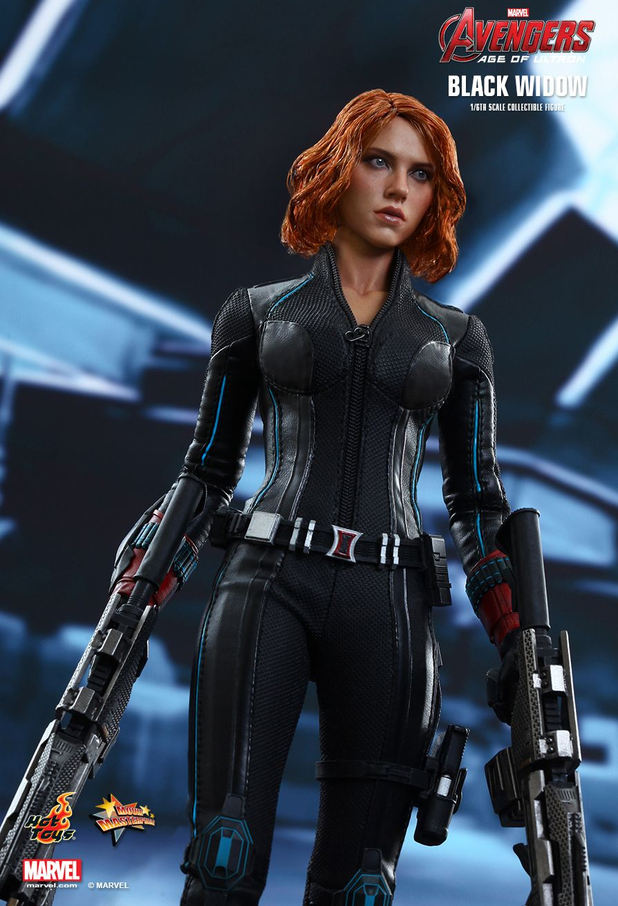Hot Toys Black Widow Avengers Age Of Ultron Movie