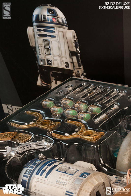 R2d2 Deluxe Edition Sideshow