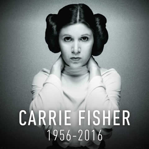 Carrie Fisher - Princess Leia